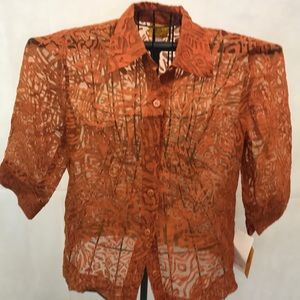 NWT- Ruby Rd Blouse